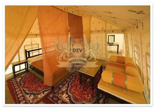 Luxury Swiss tents & Camp E Khas Jaisalmer | Deluxe tent in Jaisalmer | Luxury desert camp